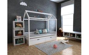 Кровать домик Китти с ящиками ТМ MegaOpt