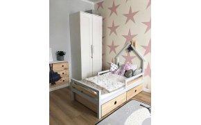 Кровать детская деревянная Кайра без ящиков ТМ MegaOpt